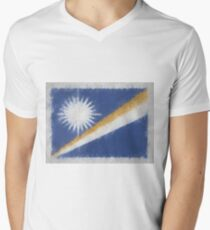 Marshall Islands Flag Reworked No. 66, Series 4 T-Shirt