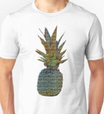 Colorful Psychedelic Pineapple  T-Shirt