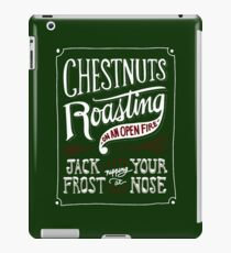 Chestnuts Roasting on an Open Fire iPad Case/Skin