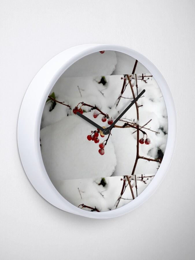 Alternate view of Xmas design Clock