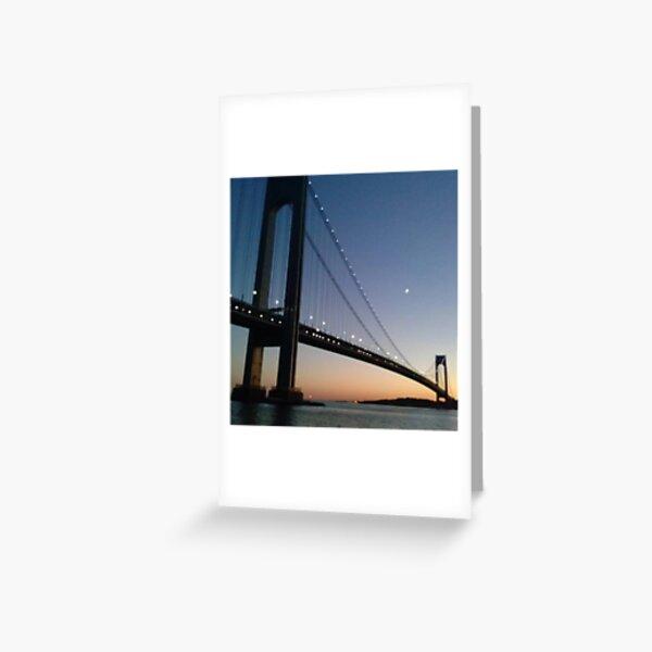 Verrazano-Narrows Bridge Greeting Card