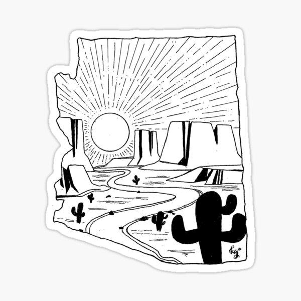 Arizona State Wild Sticker