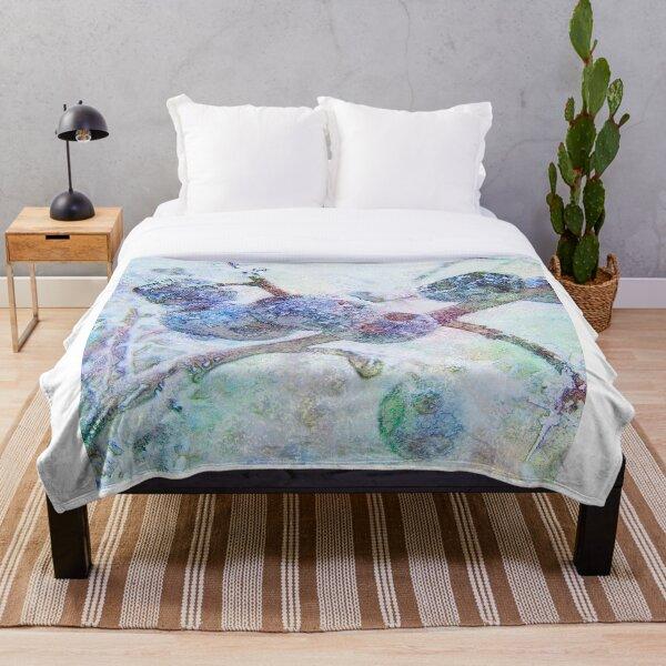 Vibrant Frost 1 Throw Blanket