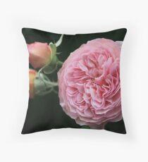 leander rose Throw Pillow