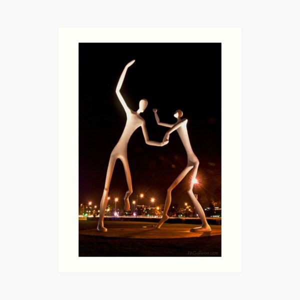 Dancers in the Dark Art Print