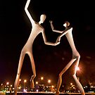 Dancers in the Dark by PAGalleria