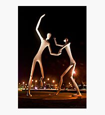 Dancers in the Dark Photographic Print
