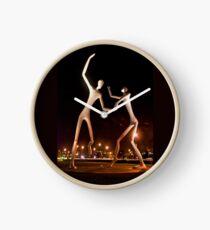Dancers in the Dark Clock