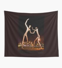 Dancers in the Dark Wall Tapestry
