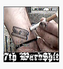 7thWard$hit barbed Wire - SuicideboyS G59 Photographic Print