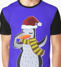 Dabbing Penguin Christmas Kids Dab Dance Gift Xmas Graphic T-Shirt