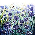 Happy Hydrangeas - Flowers by Linda Callaghan
