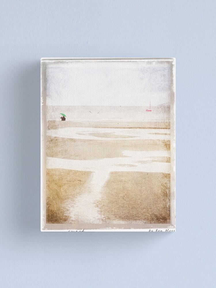 Alternate view of s w e p t Canvas Print