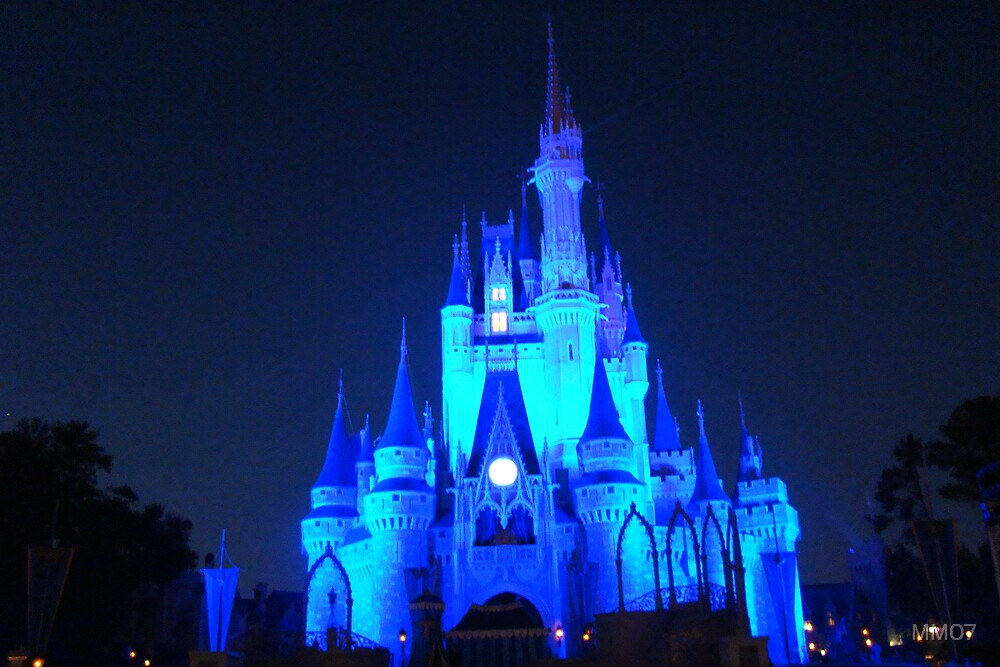 Quot Disney S Magic Kingdom Cinderella S Castle At Night Quot By
