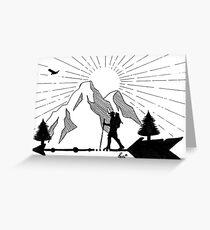 Forward Arrow Greeting Card