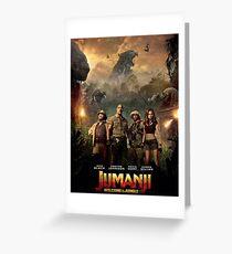 jumanji remake Greeting Card