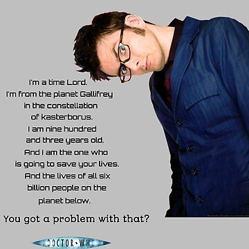 Tenth Doctor Quote by Sassenach616