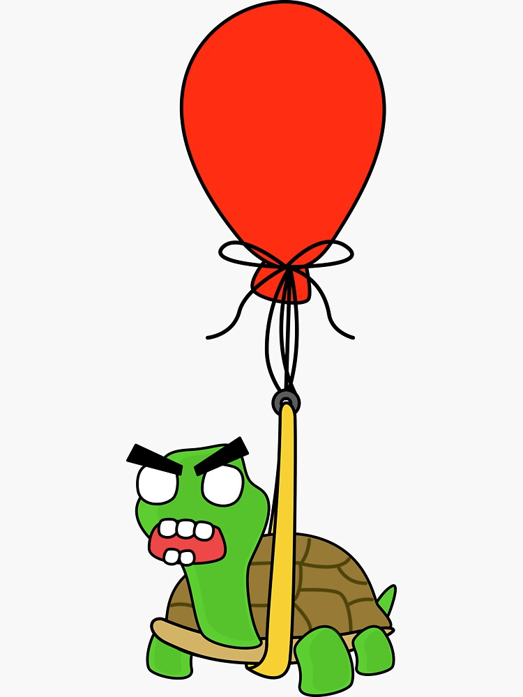 angry zombie turtle on an adventure by shortstack