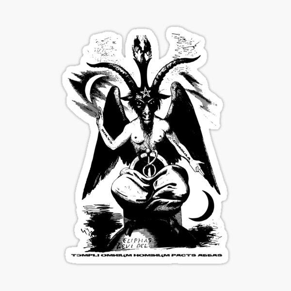 Le Baphomet - La chèvre sabbatique Sticker