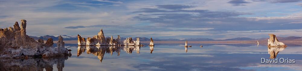 Mono Lake Panorama #2 by David Orias