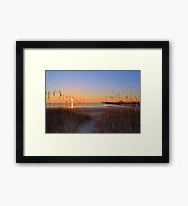 Pathway To Amazing Framed Print