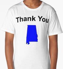 Thank You Alabama Long T-Shirt