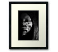 On the Inside Framed Print