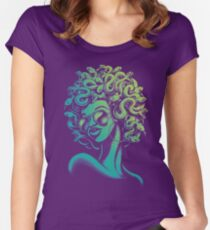 Funky Medusa Fitted Scoop T-Shirt