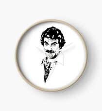 Magnum P.I. - Tom Selleck Clock