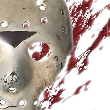 Jason Vorhees - Blood splatter by scaabs