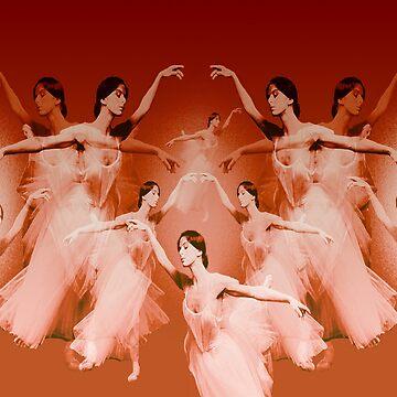 Ballerinas firing by Dulcina