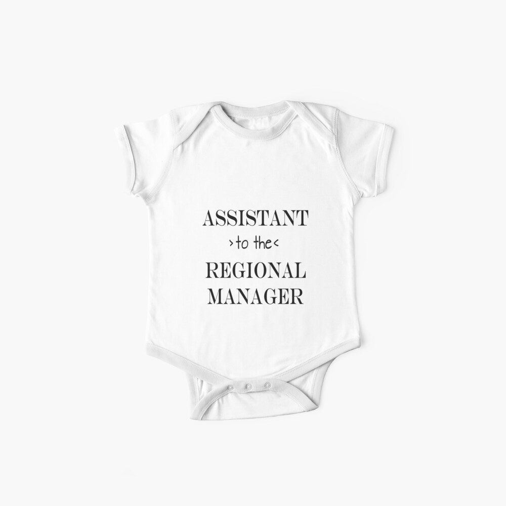 Assistant (to the) Regional Manager Baby One-Pieces