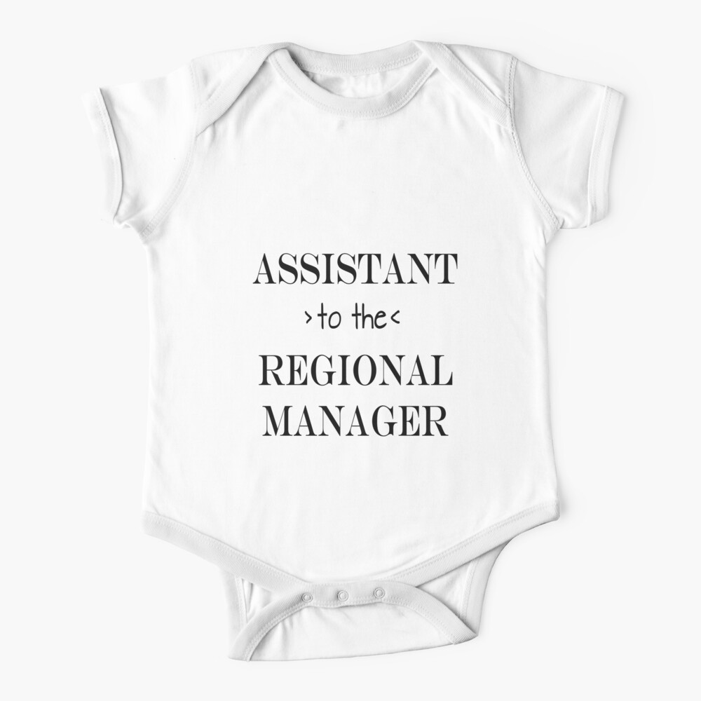 Assistant (to the) Regional Manager Baby One-Piece