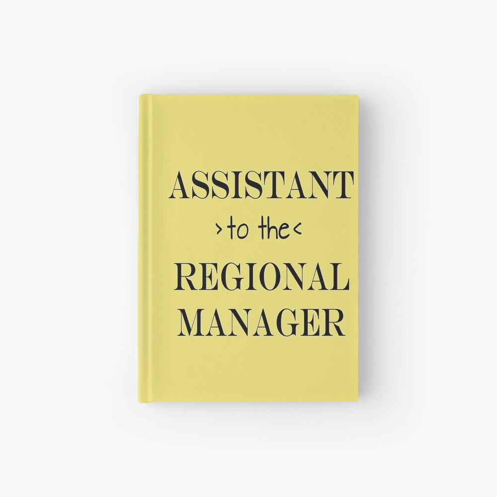 Assistant (to the) Regional Manager Hardcover Journal