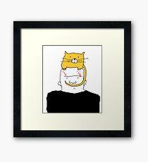 cuddly Framed Print