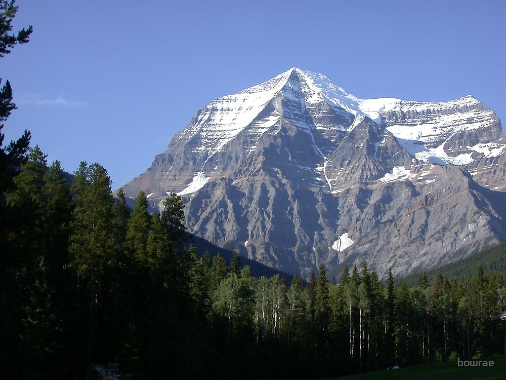 mount robson canada 2008 by bowrae