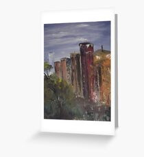 A Cityscape Greeting Card