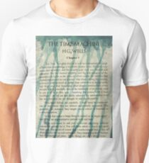 The Time Machine by H.G. Wells Watercolour Tribute T-Shirt