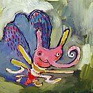 Butterfly by Rina Miriam  Drescher