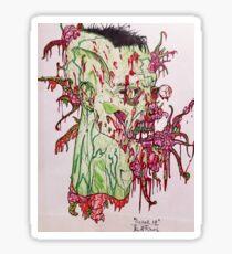 """Pucker Up"" - By: A. Rimal Sticker"