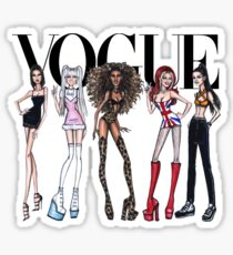 vogue spice girls Sticker