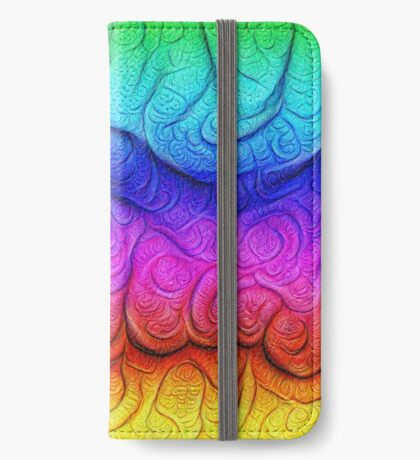 Color Foam levels #DeepDream iPhone Wallet