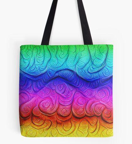 Color Foam levels #DeepDream Tote Bag