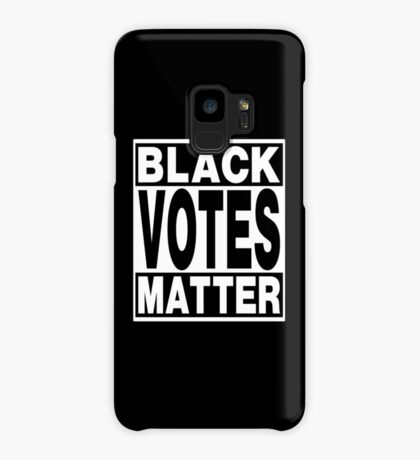 Black Votes Matter Case/Skin for Samsung Galaxy