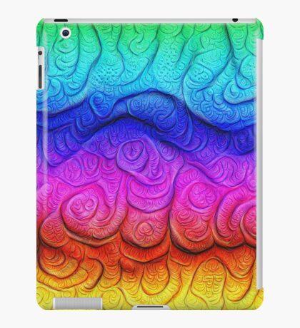 Color Foam levels #DeepDream iPad Case/Skin