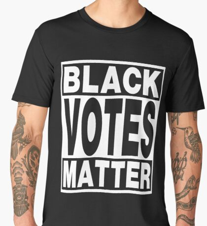 Black Votes Matter Men's Premium T-Shirt