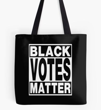 Black Votes Matter Tote Bag