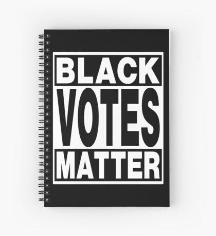 Black Votes Matter Spiral Notebook