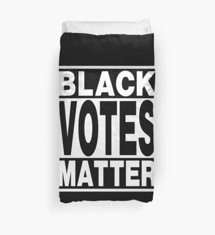 Black Votes Matter Duvet Cover