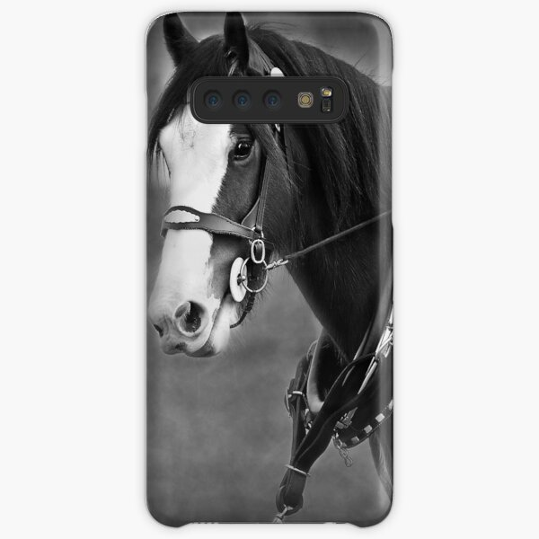 Days Gone By - Clydesdale in Harness Samsung Galaxy Snap Case